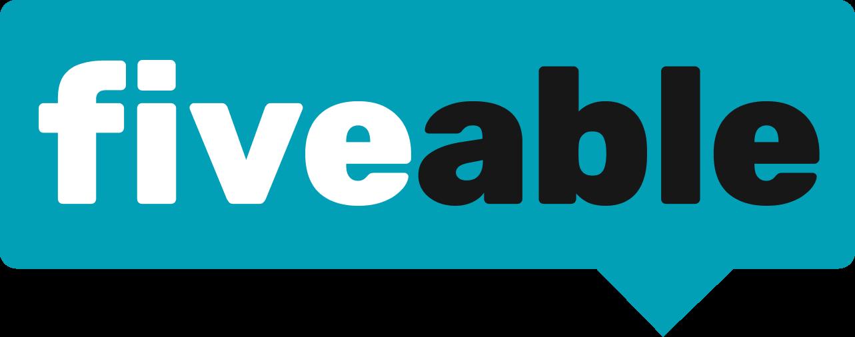 Fiveable blue logo