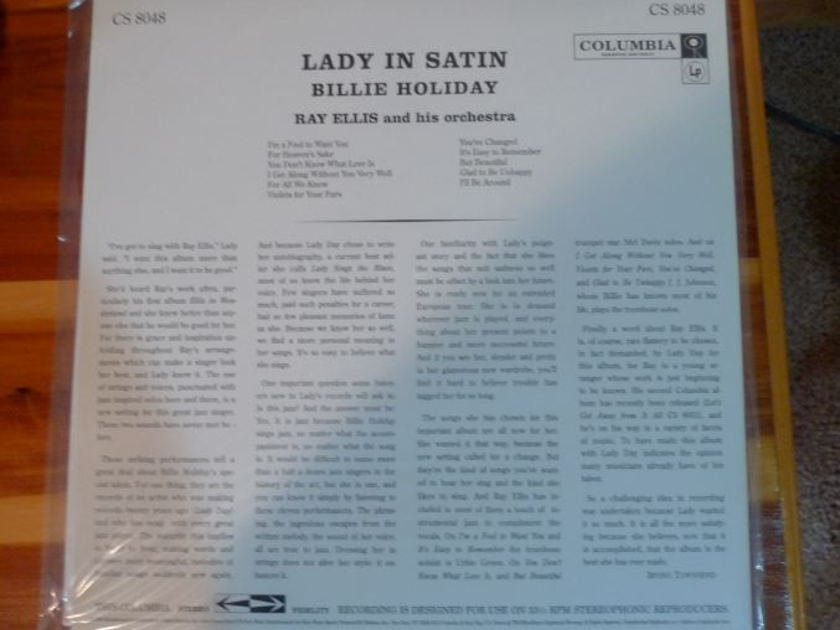 Billie Holiday - Lady In Satin CS-8048 Classic Records original reissue 180G 1990's Sealed