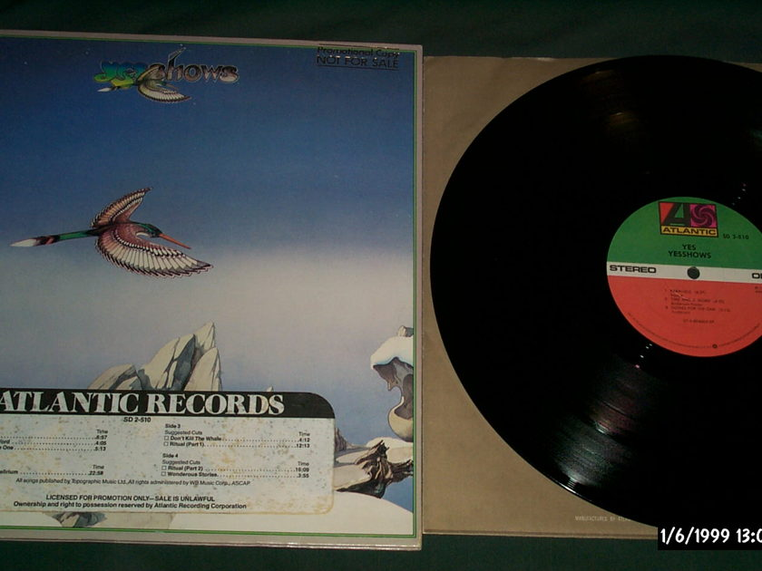 Yes - Yesshows 2 LP NM