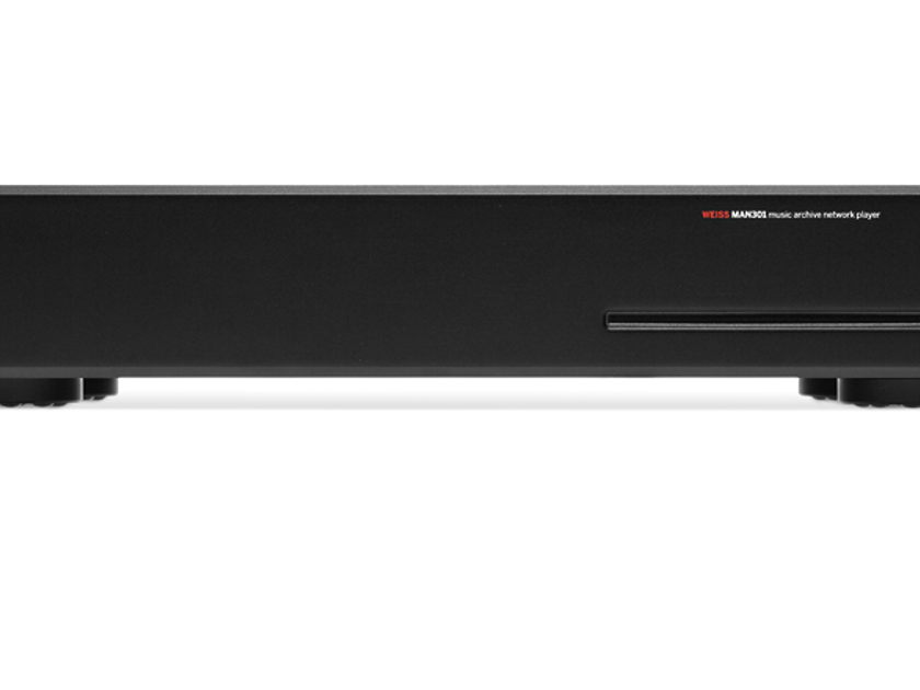 Weiss MAN301 Audiophile Network Player, CD Player/Ripper and Streamer