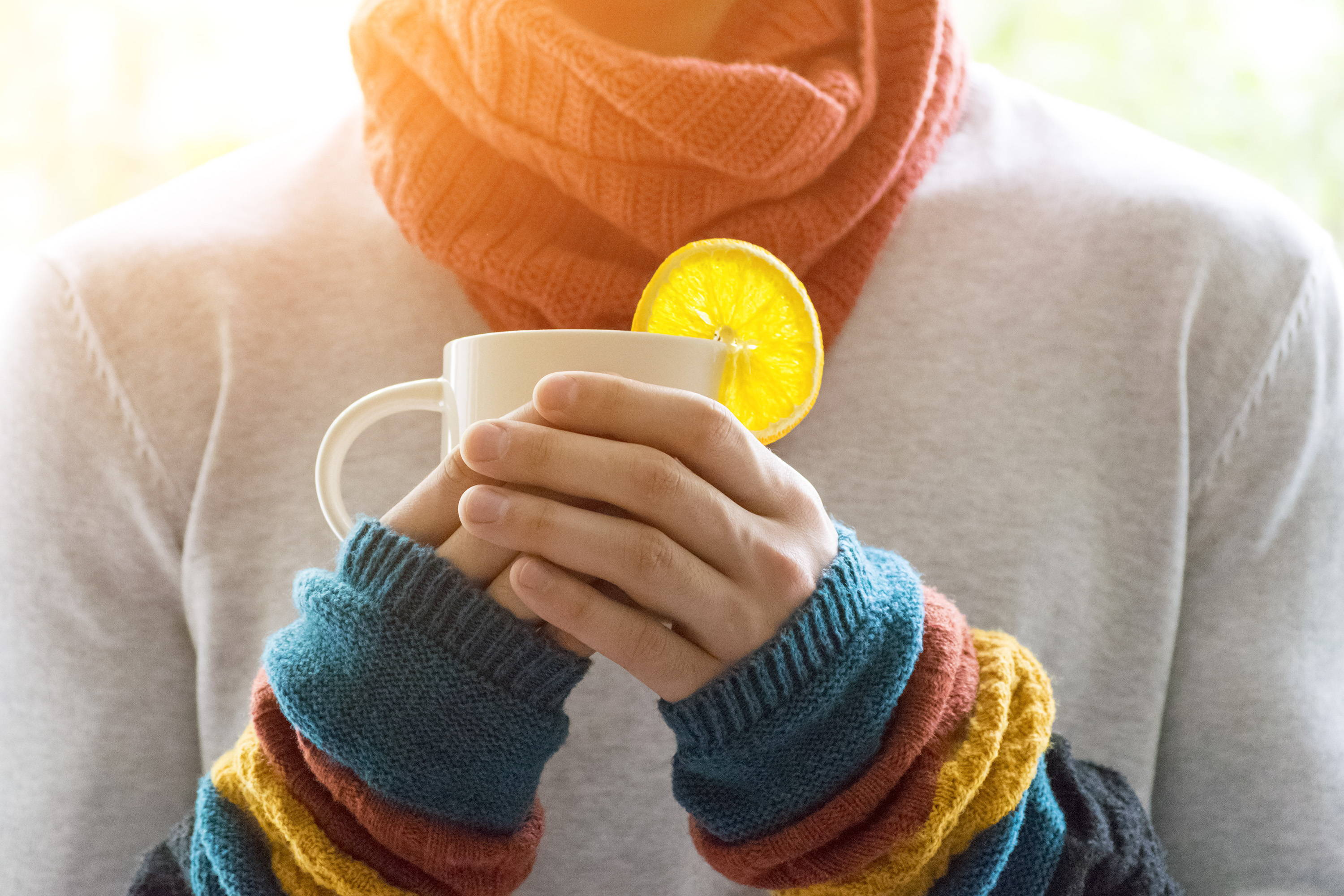 Boosting immunity with foods and homemade herbal teas