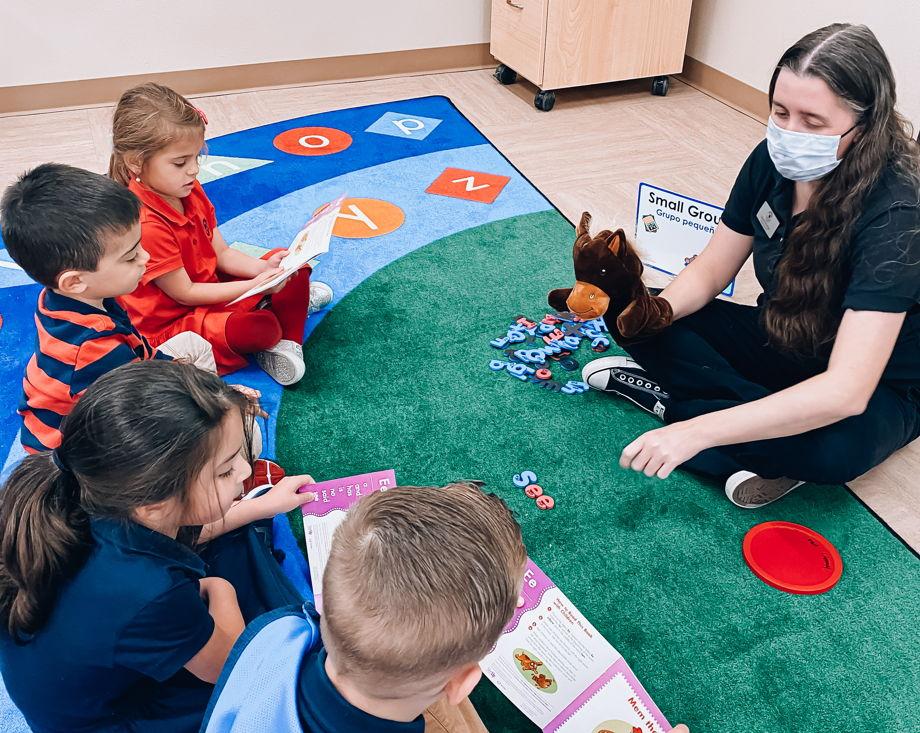 Ms. Strange , Spring Klein Kindergarten
