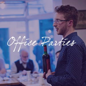 Book us for an office party wine tasting