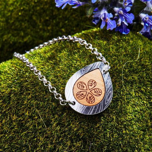 Серебряный браслет из коллекции Капля