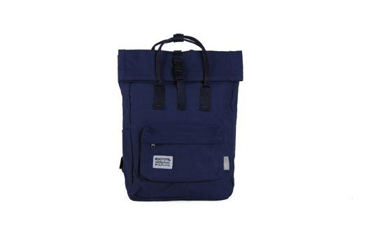 Темно синий рюкзак роллтоп