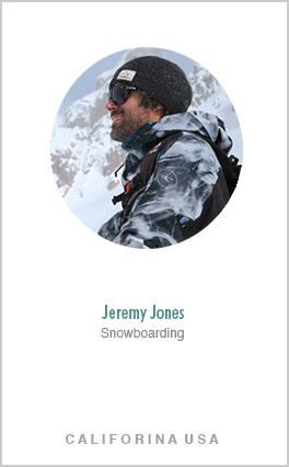 snowboarder jeremery jones