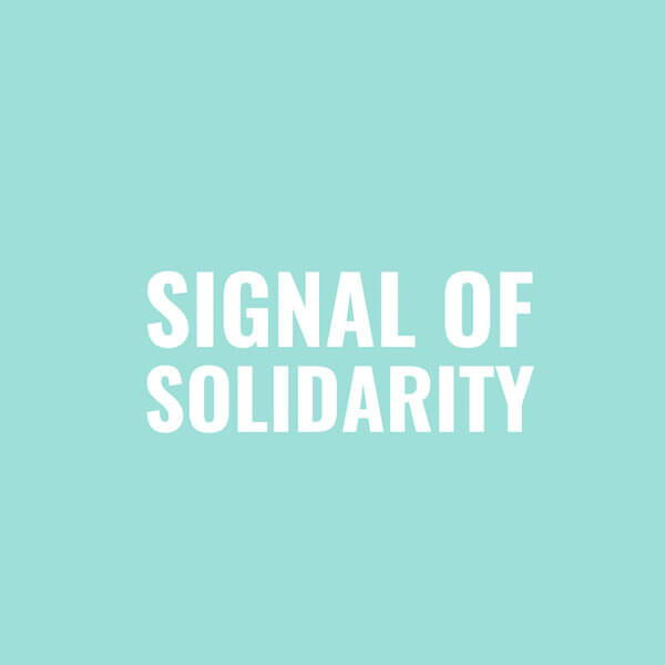 ROOM IN A BOX - Thursdays for Future Spende an Signal of Solidarity