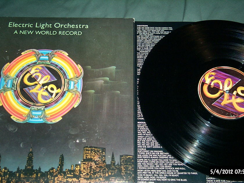 Elo - A New World Record first pressing ua nm