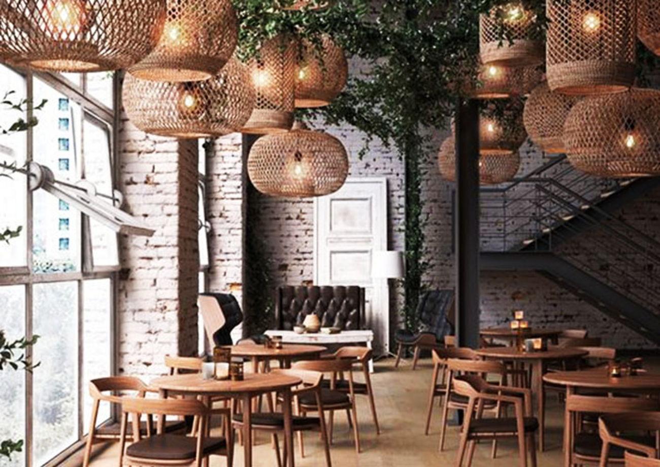 cafe exterior interior design