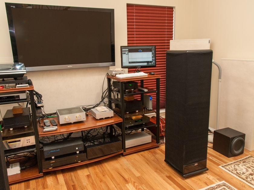 """Alon Model V mkIII """"Circe"""" w/ updated Alnico drivers & Extreme Reference XO's"""