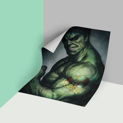 Постер Халк 2 в прочном тубусе