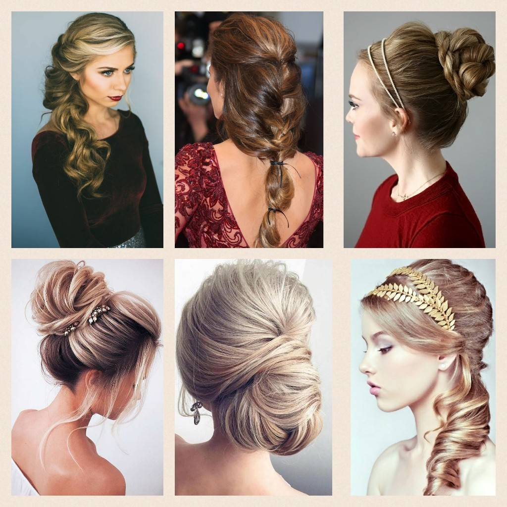 evening hairstyle with extensions