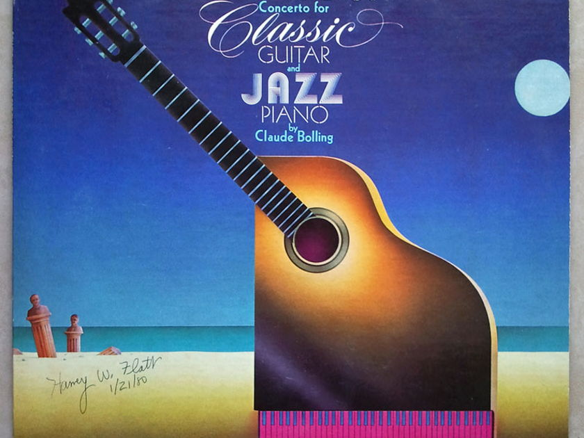RCA   BOLLING - - Concerto for Classic Guitar & Jazz Piano / NM