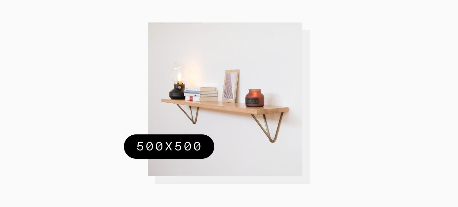 a shelf on a wall