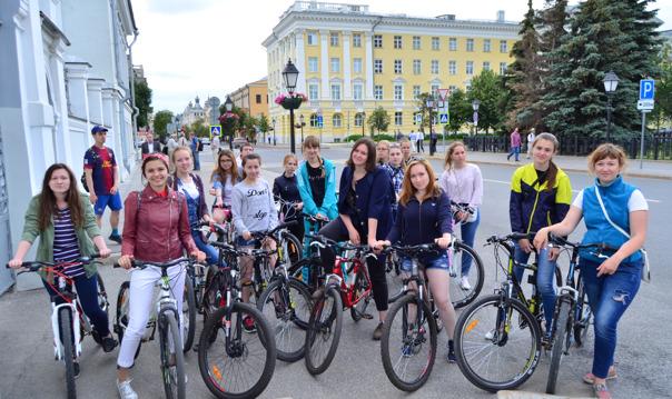 Велоэкскурсия по незабываемой Казани