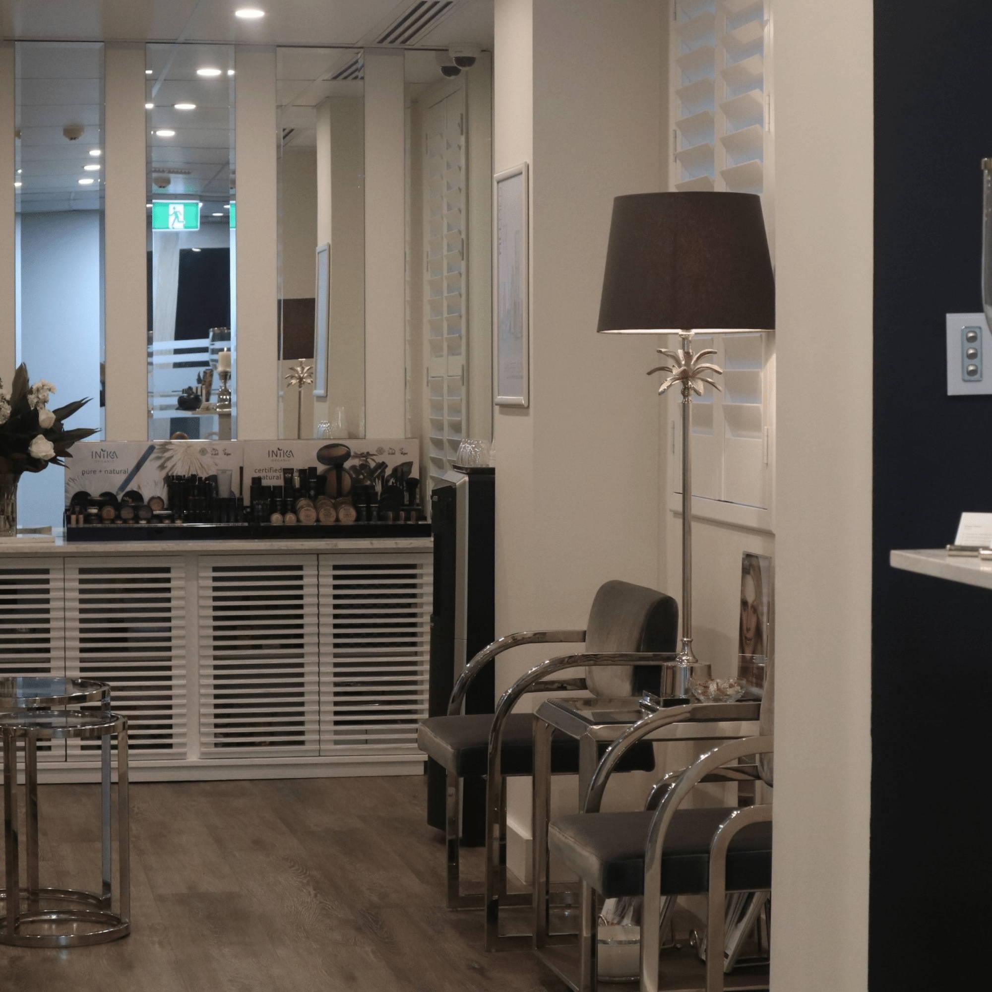 Reception Desk at The Skin Philosophy