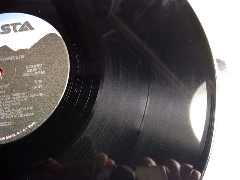 Aretha Franklin - Jimmy Lee / Aretha Mega Mix - 12 Inch Maxi-Single - MATERDISK Mastered 1986 Arista AD1-9547