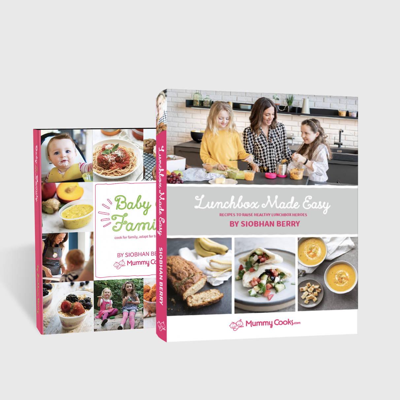 Mummy Cooks Recipe Books
