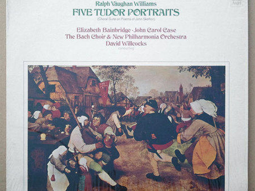 Angel/Vaughan Williams - Five Tudor Portraits EX