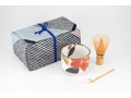matcha LOVE® Mainichi Furoshiki Premium Matcha, Bowl, and Whisk Gift Set