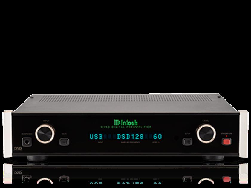 McIntosh D150 New in Box McIntosh Pre Amp / DAC