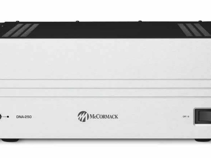 McCormack DNA-250 Stereo Power Amplifier, 250W/ch. New with Full Warranty!