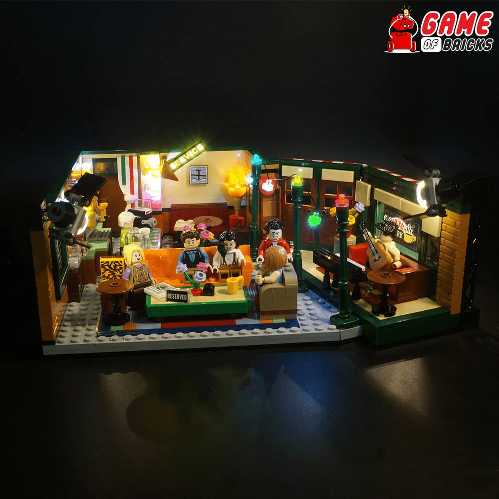 lego central perk led light kit