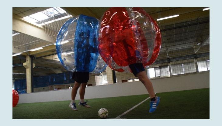 nbg bubble soccer vs