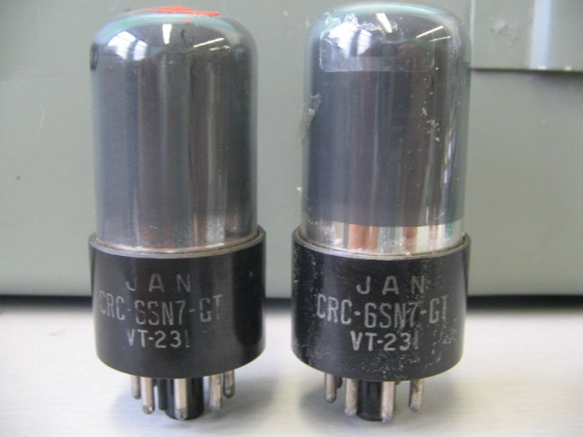 NOS RCA VT231 6SN7GT Special Low Noise grade MP New Old Stock