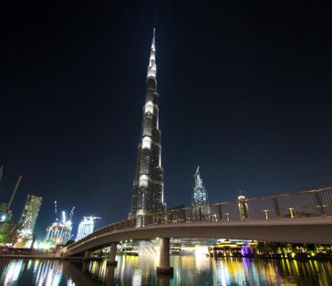 Бурдж-Халифа вершина: билеты на 148, 124 и 125 этажи (вечер)