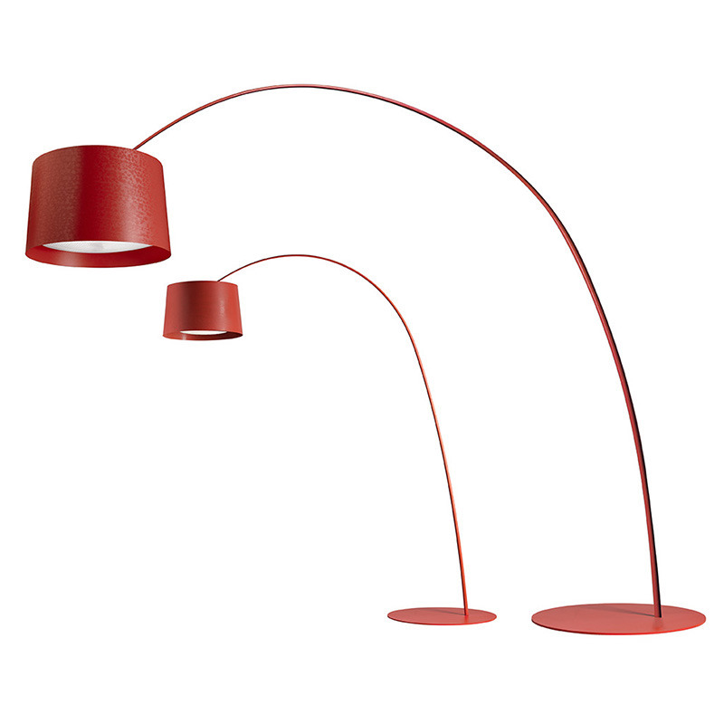 Foscarini Twiggy Floor Lamp in crimson