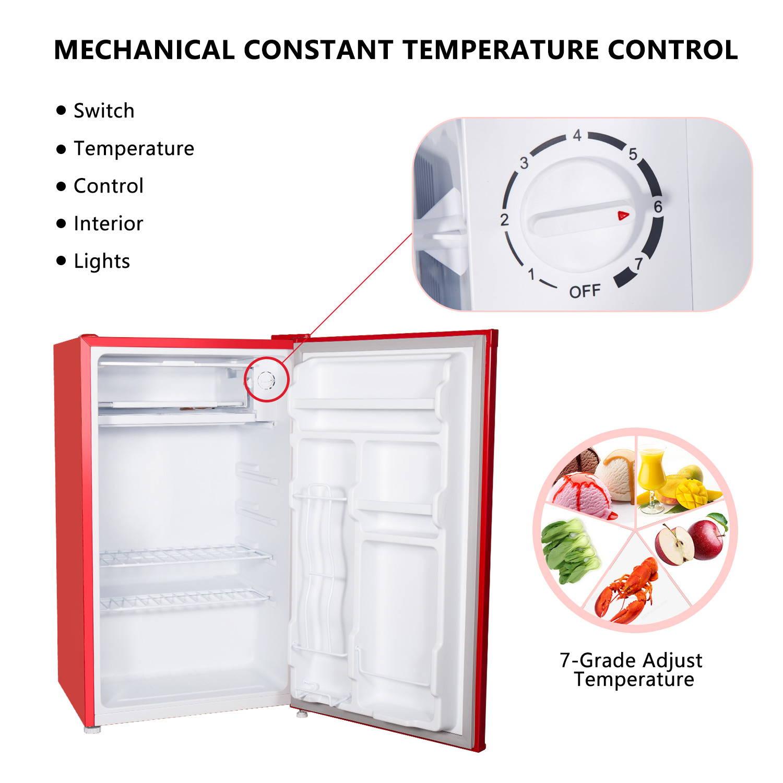 Aposen 7 Grade Adjust Temperature refrigerator