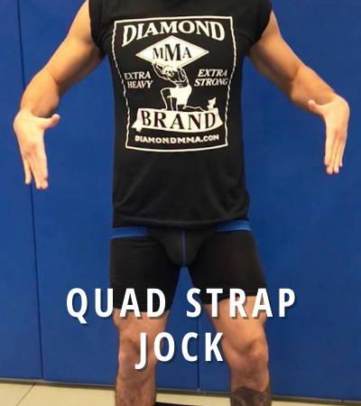 Diamond MMA Quad Strap Jock