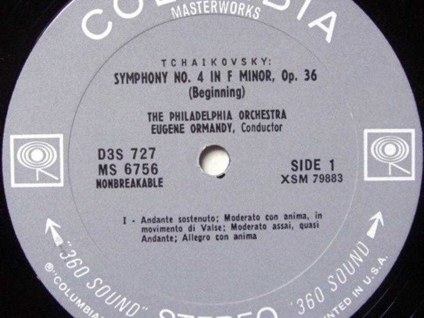 Columbia 2-EYE / EUGENE ORMANDY, - Tchaikovsky Symphony No.4, NM-!