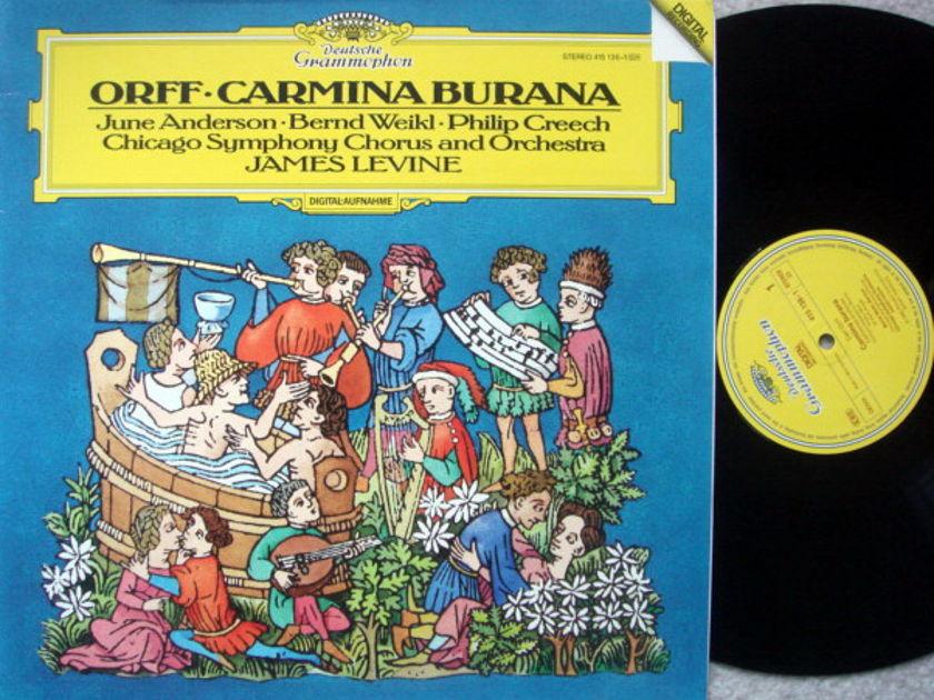 DG Digital / JAMES LEVINE-CSO, - Orff Carmina Burana, NM!