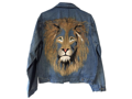 Marymount Benefit Lion Denim Jacket