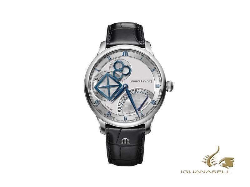 maurice lacroix reloj automatico square wheel