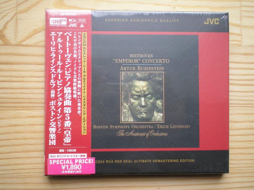 "ARTHUR RUBINSTEIN - Beethoven's ""'Emperor' Concerto No. 5 XRCD"