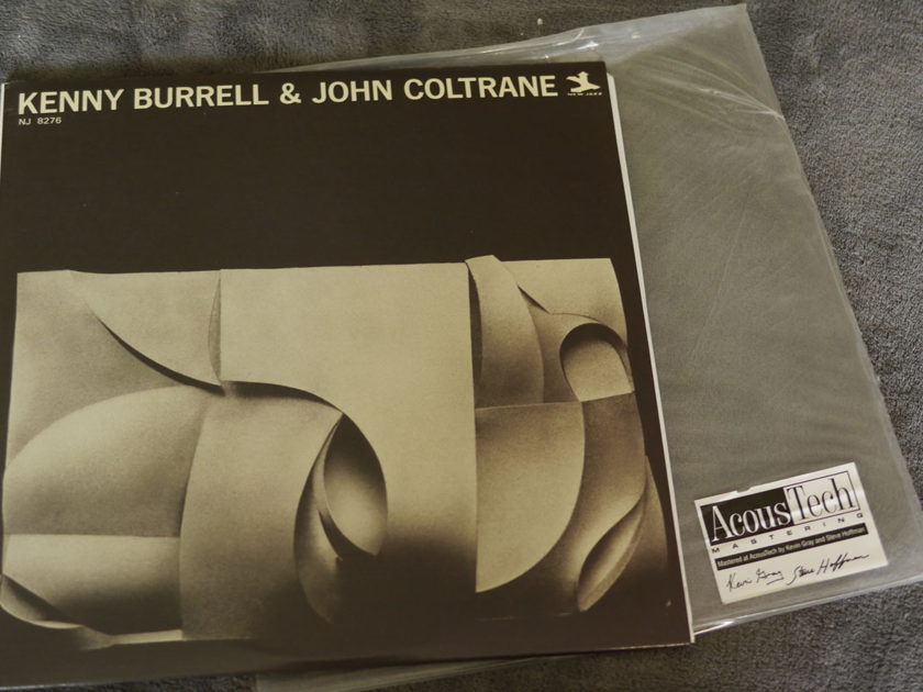 Kenny Burrell And John Coltrane - Kenny Burrell And John Coltrane Analog Production 45RPM 2 LPs