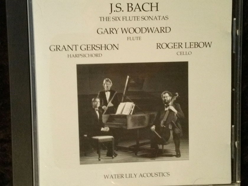 Bach / Woodward, Lebow, Gershon - Six Sonatas for Flute Water Lily CD Kavi Alexader!