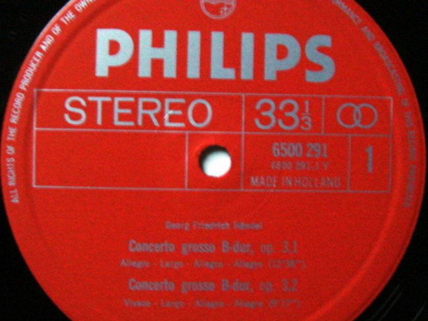 Philips / LEPPARD, - Handel Overtures, MINT!