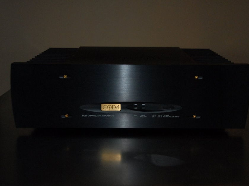 Coda Technologies  V10 Precision Bias High Current Reference 4 Channel Amplifier  125w X 4 CLASS A/AB
