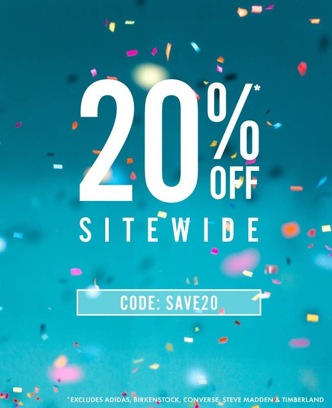 20% off site wide | CODE: SAVE20