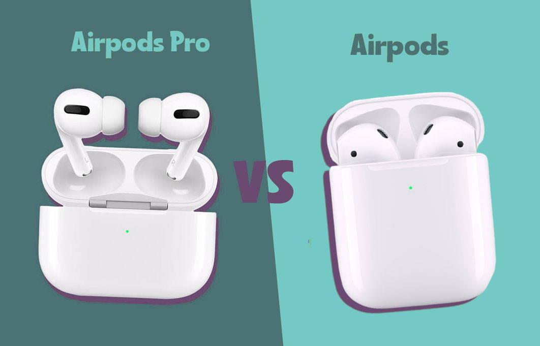 comparatif des airpods et airpods pro apple