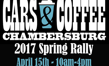Chambersburg Cars and Coffee Spring Rally