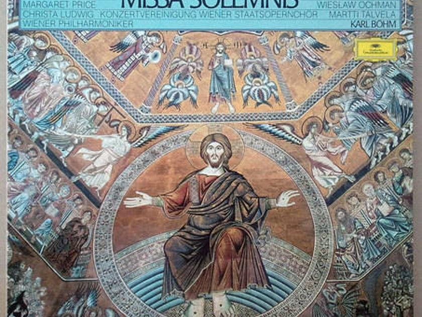 DG/Bohm/Beethoven - Missa Solemnis / 2-LP Box Set / NM