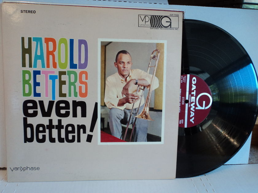 Harold Betters - Even Better! Variphase Gateway DG GLP-7008 Rare Record NM
