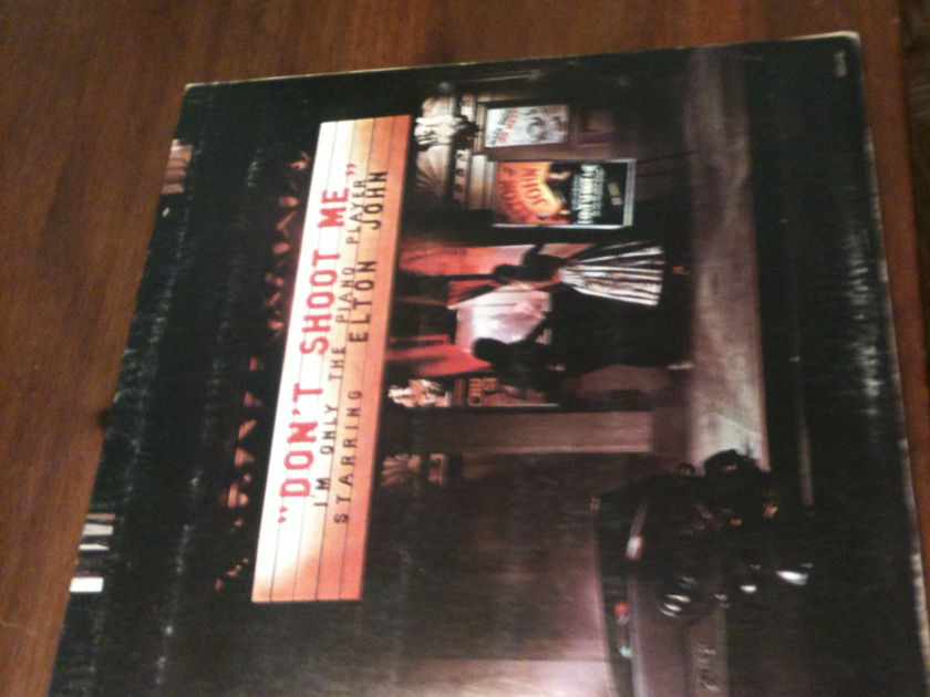 Elton John - Don't Shoot Me I'm Only the Piano Player classic LP