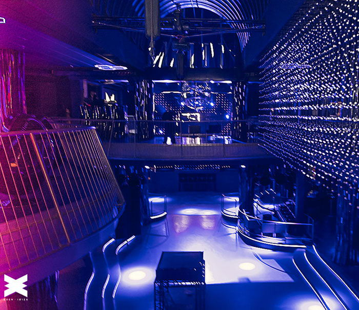 Interior eden Ibiza, nightclubs guide Ibiza, clubbing