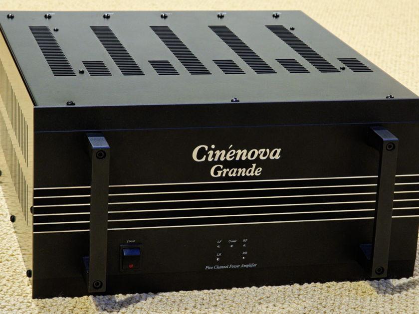 Earthquake Cinenova Grande 300 watt x 5 channel amp